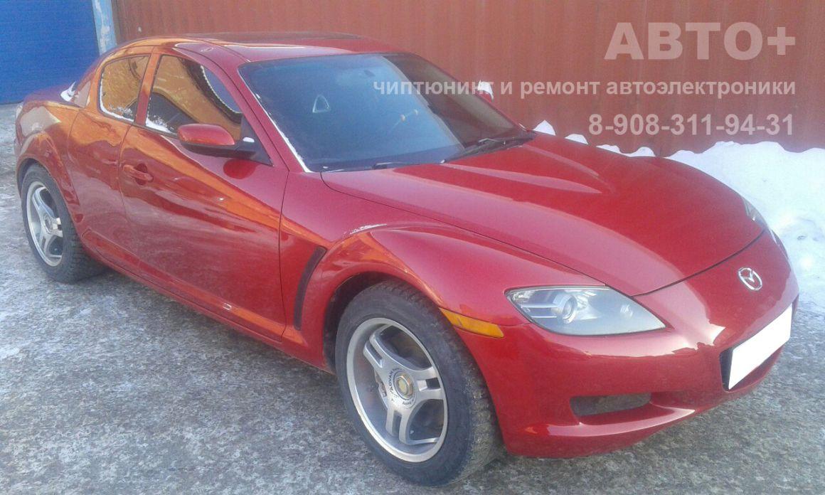 Диагностика и ремонт ЭБУ двигателя Mazda RX8